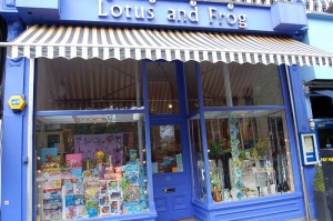 Lotus and Frog